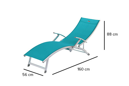 transat ibiza hesp ride en texaline accoudoirs jardideco. Black Bedroom Furniture Sets. Home Design Ideas
