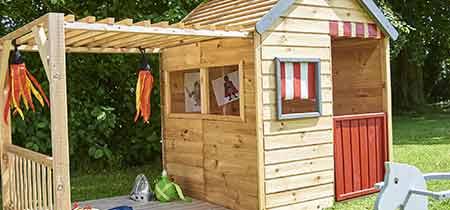 cabane enfant bois forest style mod le margot petit prix. Black Bedroom Furniture Sets. Home Design Ideas