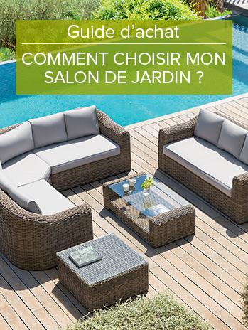 Grand choix de Salon de Jardin en résine tressée Hespéride à ...